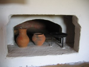 печка...