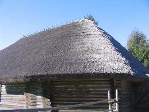 очень красиво крыша отсвечивала...