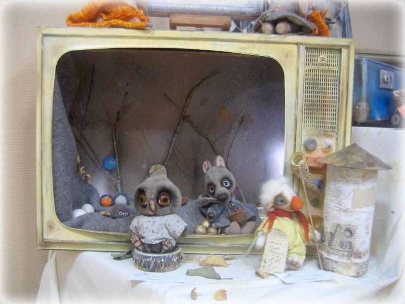 Фотоотчет о выставке «Госпожа кукла»